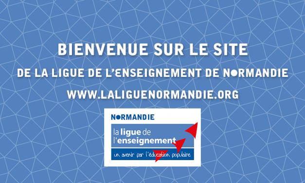 Ouverture du site de la Ligue de l'enseignement de Normandie