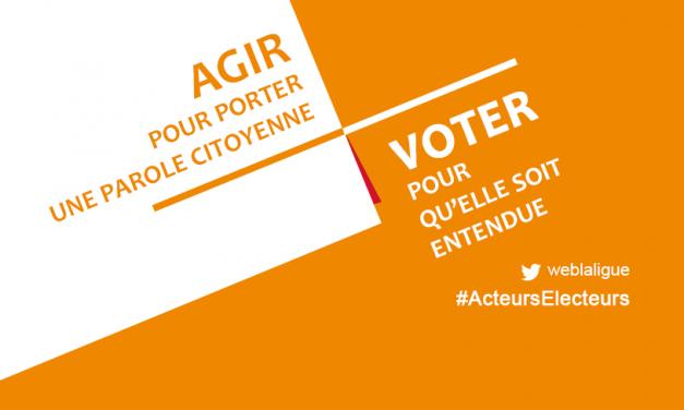 Campagne d'appel au vote #ActeursElecteurs