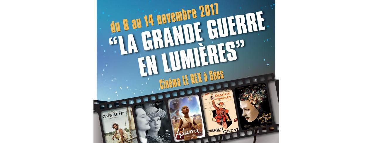 La Grande Guerre en Lumières au Cinéma Le Rex à Sées du 6 au 14 novembre