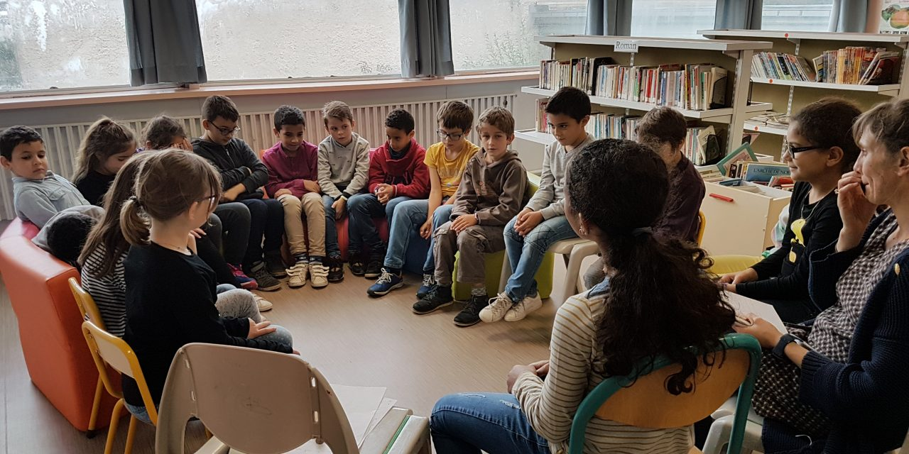 Débat à visée philosophique pour 17 classes de CM1/CM2 d'HEROUVILLE SAINT CLAIR