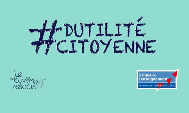 Emplois aidés : lancement de la campagne #DUTILITECITOYENNE