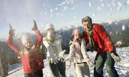 Jour de l'an en famille à la montagne